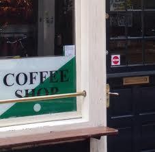 coffeeshop sticker
